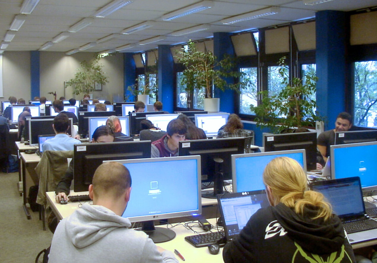 Studierende im CIP-Pools