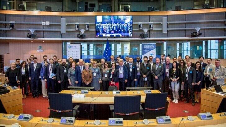 Group Picture from the final event at the EU parliament