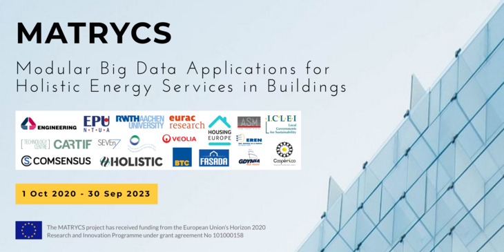 Partners of the project MATRYCS